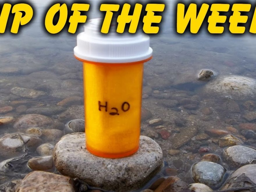 """Homemade Emergency Water Filter Kit – """"Tip Of The Week"""" E33"""
